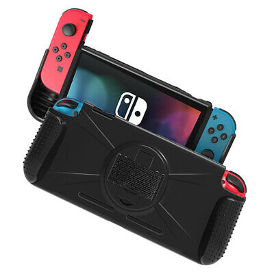 Brightech for Nintendo Switch Console Joy-Con Case Grip Protective Cover Stand