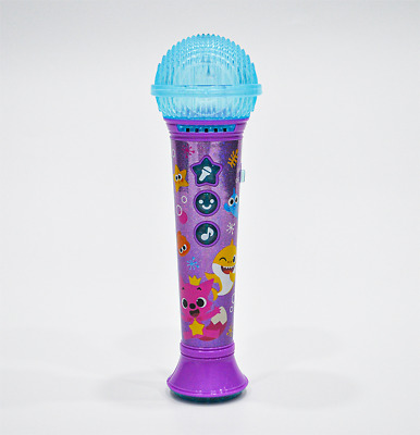 Pinkfong Baby Shark Family Microphone English kids songs 20 and sound toy