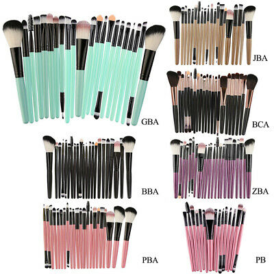 22tlg. Make Up Pinsel Set Kosmetik Make up Bürsten Pinsel Kit für Foundation