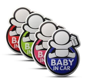 1x Sticker Autocollant bébé à Bord Baby In Car