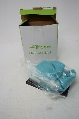 Trideer Mini Exercise Ball 23cm Blue - New Open Box