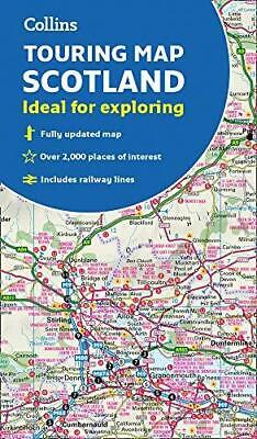 Scotland Touring Map by Collins Maps Sheet map folded NEW Book