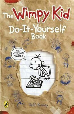 Diary of a Wimpy Kid: Do-It-Yourself Book by Jeff Kinney Paperback NEW Book
