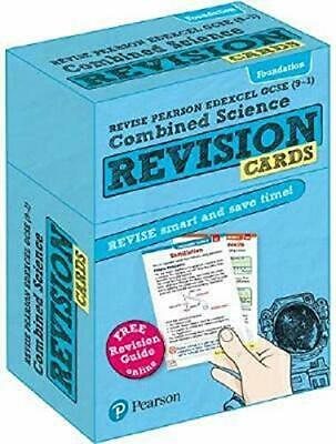 Revise Edexcel GCSE 9-1 Combined Science Foundation Revision Cards Mixed media p
