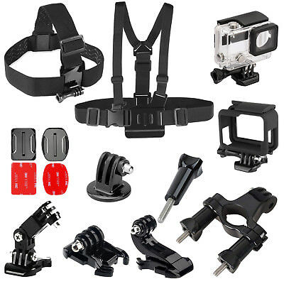 New Model GoPro HERO7 Black Action Camera Accessories Kit For GoPro Hero 7/6/5/4