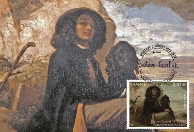 France 2019 - Gustave Courbet (1819-1877) maximum card
