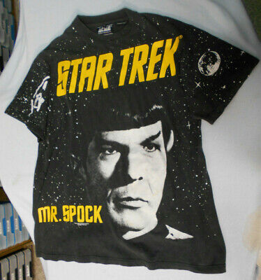 #Bb.   Mr Spock  Star Trek T-Shirt