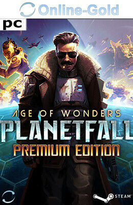 Age of Wonders Planetfall - Premium Edition - PC Steam Spiel Download Code - EU