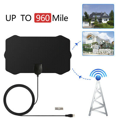 Range Antenna TV Digital HD Skywire 4K Antena Digital Indoor HDTV 1080p