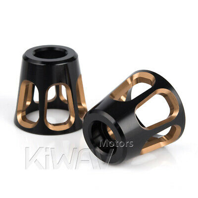 Bar ends Tower champagne gold silver base 6mm bolt-on for Piaggio BV X9