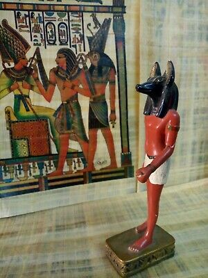 Anubis the god of death, statue from ancient Egyptian religion