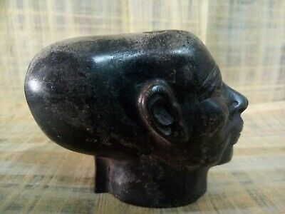 Sculpted Head Of A Princess From Amarna (rare ancient egyptian antique)