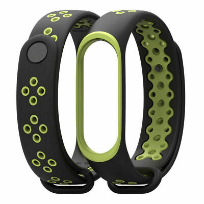 Xiaomi Mi Band3 Strap Replacement Anti-Loss Double Color Miband3 Smart Bracelet