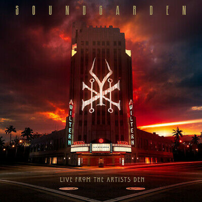 SOUNDGARDEN Live From The Artists Den X4 lp vinyl box