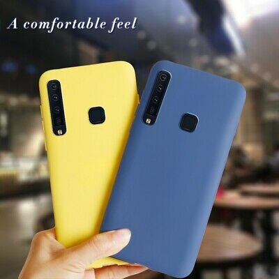 For Samsung Galaxy A9 A6+ A8+ A7 2018 Soft Silicone Shockproof TPU Phone Case
