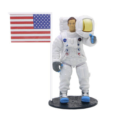 Apollo 11 Lunar Landing Moon Astronaut Figure Toy Neil Armstrong 1:18 Model Gift