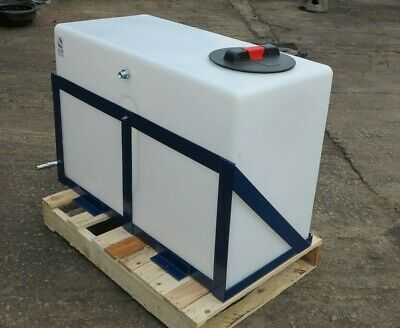 210L Baffled Pressure Wash Tank - With Frame, Inlets and Outlets