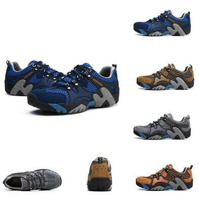 Men's Waterproof Climbing Breathable Outdoor Mesh Hiking Non-slip Water Shoes US