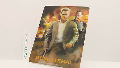 COLLATERAL - Lenticular 3D Flip Magnet Cover FOR bluray steelbook