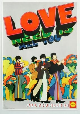 The Beatles - All you need is love 1969