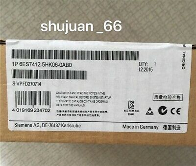 NEW SIEMENS 6ES7412-5HK06-0AB0 / 6ES7 412-5HK06-0AB0 central processing unit