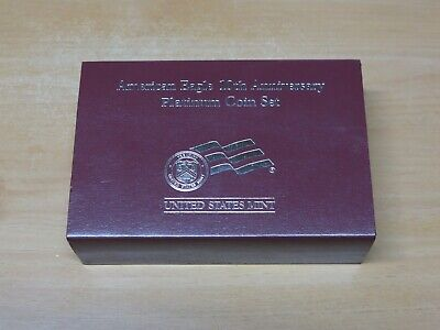 2007 American Eagle 10th Anniversary Platinum Two Coin Set