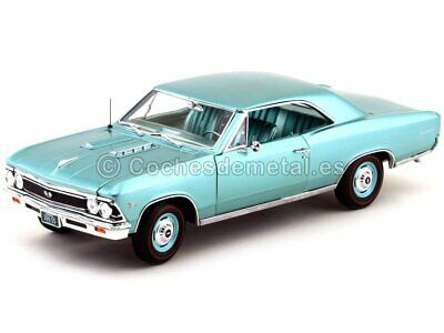 1966 Chevrolet Chevelle SS 396 Turquoise 1:18 Auto World AMM1066