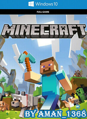 Minecraft PC WINDOWS 10 EDITION (DIGITAL KEY) Activation Multiplayer