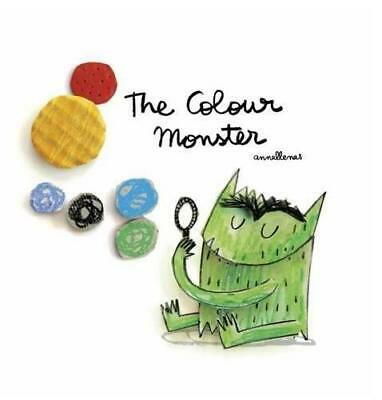 The Colour Monster by Anna Llenas Paperback NEW Book