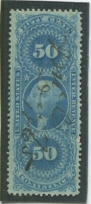 U.S. Stamps Scott #R54c Used,VF (X2181N)