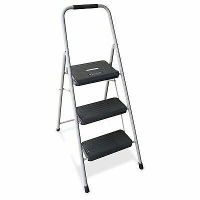 Louisville Davidson Ladders 3' Steel Domestic Step Stool - 3 Step - 225 Lb Load