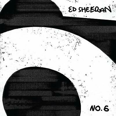 No.6 Collaborations Project Ed Sheeran Latest CD Album 15 tracks duets Brand NEW