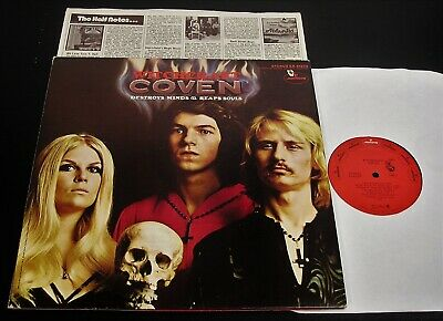 COVEN: WITCHCRAFT DESTROYS Minds & Reaps Souls SUPER RARE PROMO