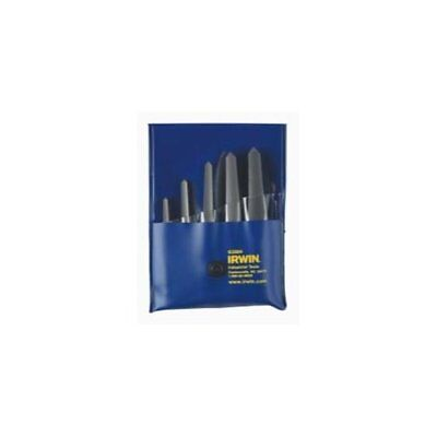 Hanson 53635 5 Piece Straight Flute St-1 - St-5 Screw Extractor Set Carded