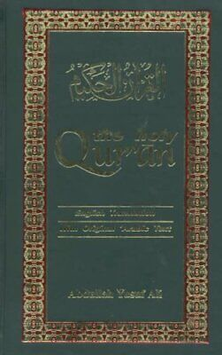 The Holy Qur'an: Arabic Text with English Tra... by Ali Yusuf Abdullah Paperback