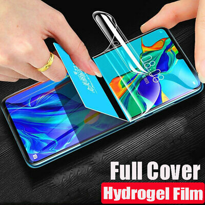 Soft TPU Full Cover Hydrogel Screen Protector Film For Huawei P30 / Pro /Lite Yc