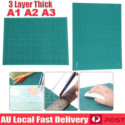 A1 A2 A3 PVC Self Healing Cutting Mat Craft Quilting Grid Lines Printed Board vL