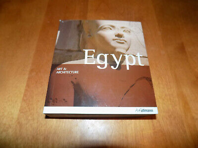 EGYPT ART & ARCHITECTURE Ancient Egyptian Arts Buildings Sites History Book NEW