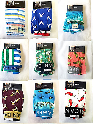 AMERICAN EAGLE Men's Boxer Assorted Prints/Colors