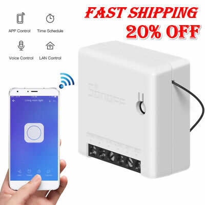 Sonoff MINI Smart Home WiFi Wireless Switch Module for Apple Android APP Control