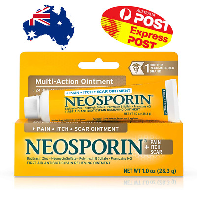 NEOSPORIN® + Pain, Itch, Scar cut burns animal bites pain relief ointment