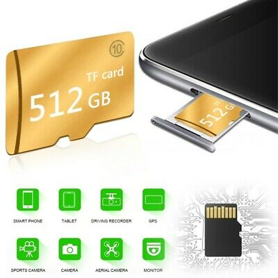 1-128GB Micro SD-card TF Speed Flash Memory Card Class10 for MP4 Phone Camera.