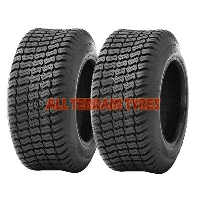 13x5.00-6 TURF TYRES x2 Ride On Lawn Mower Garden Tractor 13x500-6 13 500 6 P332