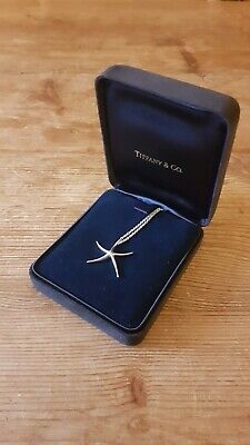 Tiffany Womens Silver necklace