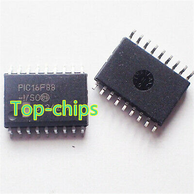 2x MICROCHIP PIC16F628A-I//SO PIC16F628A SOP-18 CHIP IC NEW