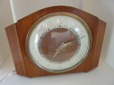 Vintage Westclox electric Mantel Clock Made in Scotland