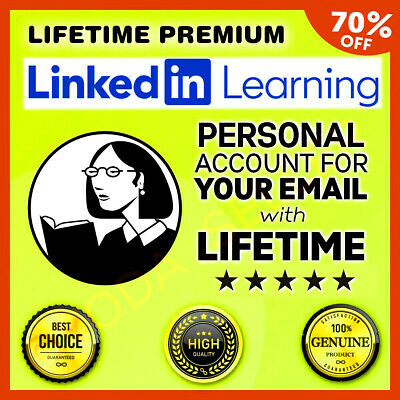 LYNDA Lifetime Premium Account - Access All Courses & Fast Delivery