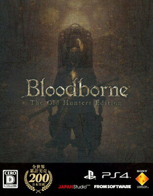 Bloodborne The Old Hunters Edition First Limited Edition PlayStation SONY PS4