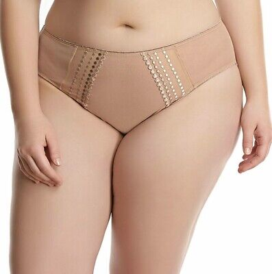 Elomi Matilda Brief Cafe Au Lait Size 4Xl 22 24 Knickers Nude Skin 8905