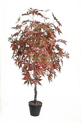 Best Artificial 4ft Japanese Maple Tree Tropical Plant Office Garden